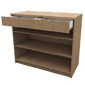 Meuble comptoir tiroir