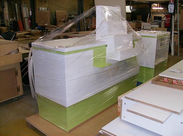 Emballage comptoir de vente