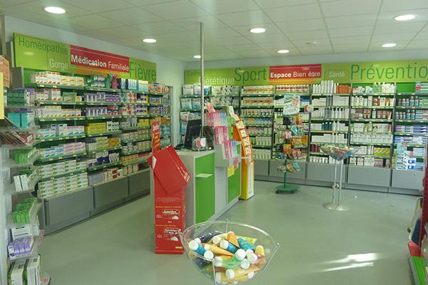 Espace comptoir pharmacie