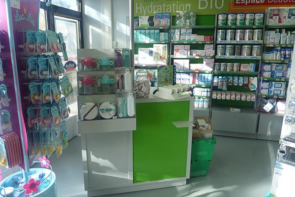 Espace comptoir simple pharmacie