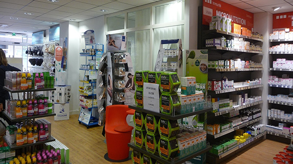 Espace spécialisé pharmacie