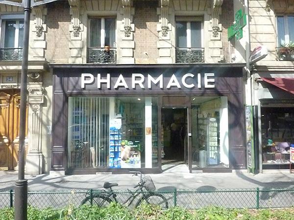 Façade pharmacie