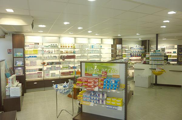 Mural pharmacie rétro-éclairé