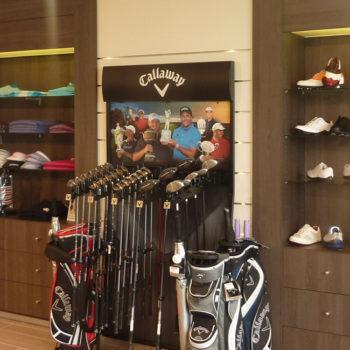 Sport – Agencement pro shop golf