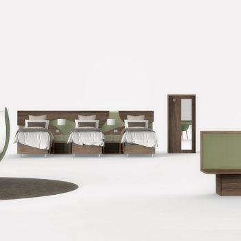 Tevere – mobilier pour hôtellerie