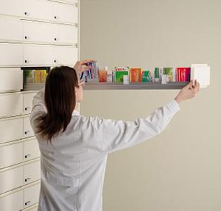 Visibilité maximum des produits dans le tiroir