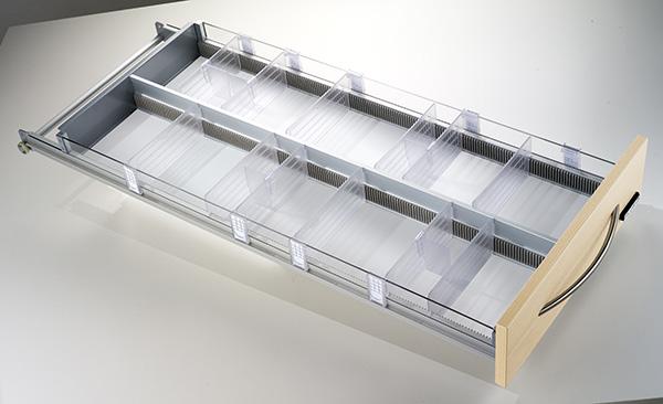 Les séparateurs de tiroir