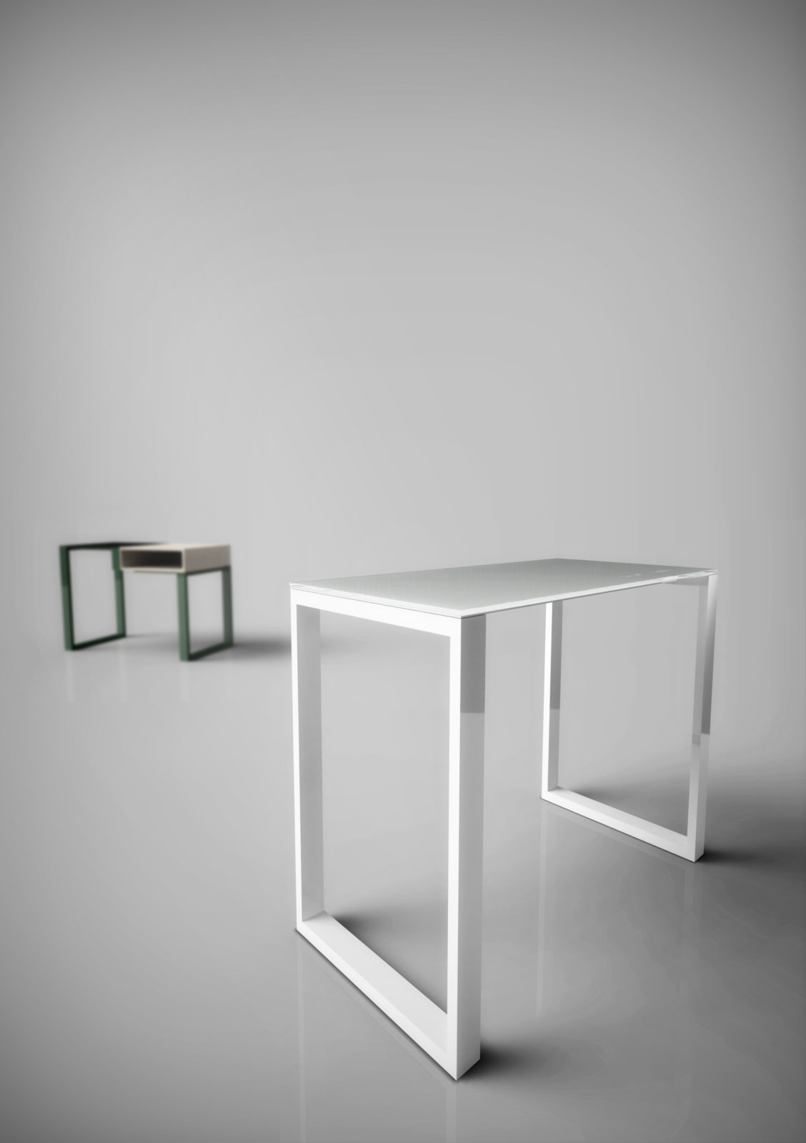 Table d'appoint hôtellerie ou console