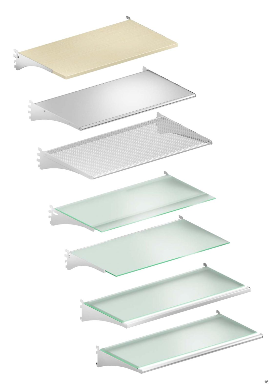 Les différents type de tablette du mobilier